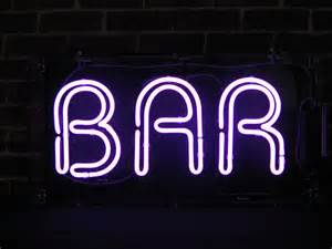 bar neon sign free delivery