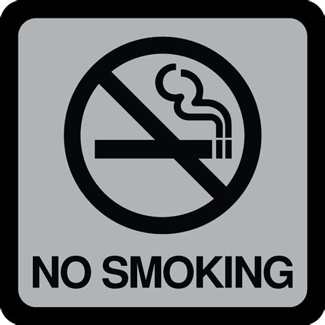 no smoking sign location hy ko 5 in x 5 in plastic no smoking sign 492 the home