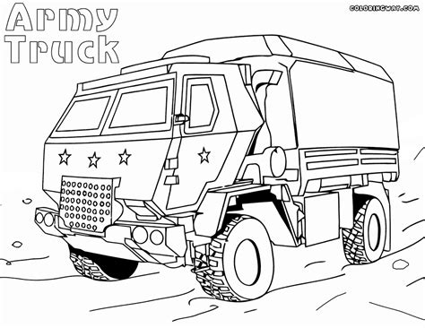 army cars coloring pages truck coloring pages coloring pages to and print