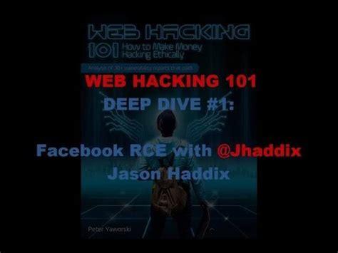 tutorial hack deep web web hacking pro tips deep dive 1 facebook rce youtube