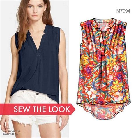 pattern free top we want a closet full of tops like this one sew the look