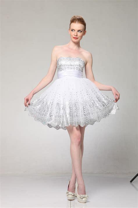 deceivingly domestic wedding wednesday short wedding dress