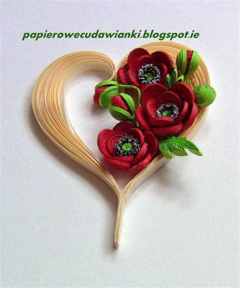 quilling maci tutorial 91 best quilling flowers poppies images on pinterest