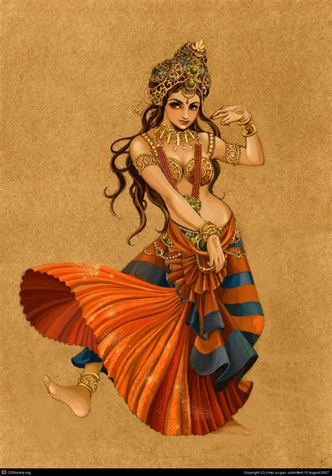 drawn dance indian dancing pencil   color drawn