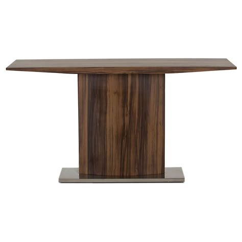 stainless steel console table messina walnut console table stainless steel free