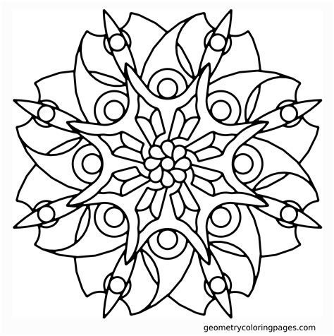 mandala coloring pages roses geometry coloring page blade flower coloring