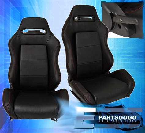 reclinable bucket seats for toyota reclinable bucket seats chairs pvc leather