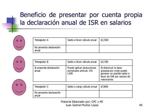 calculo isr sueldos y salarios ejemplo de ajuste anual isr sueldos y salarios ajuste