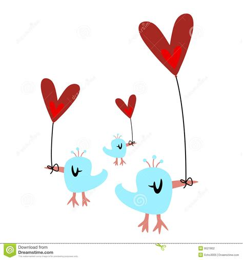 valentines day bird s day birds stock photography image 9521802