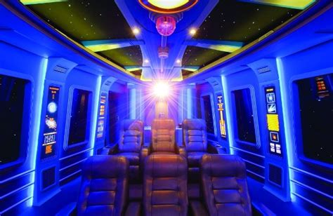 Sci Fi Home Decor Starship Home Theater Out Of My Mind Madmike