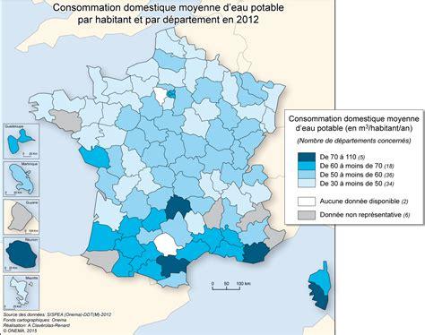 Consommation Moyenne by Eau Potable Observatoire Des Services Publics De L Eau