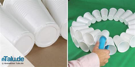 Basteln Mit Plastikbechern by Schneemann Basteln Aus Tollen Materialien Mit Vorlage
