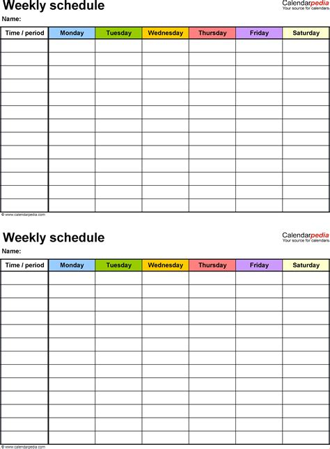 Business Itinerary Template With Meetings