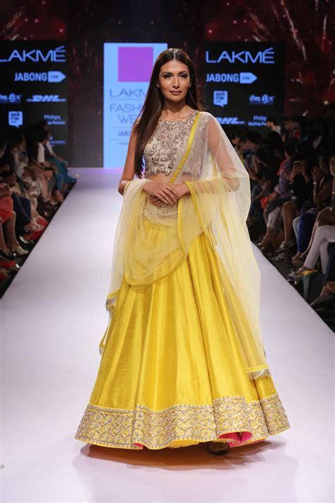 The Best Lehengas at Lakme Fashion Week S/R 2015