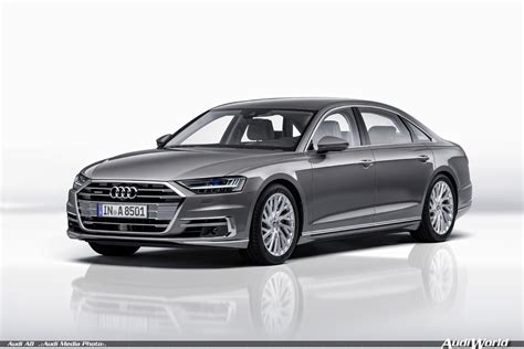 the new audi a8 2018 the all new 2018 audi a8 and a8l audiworld