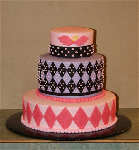 Mini3 Layer cakes argyle lil 3 tier birthday cake