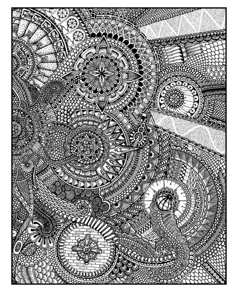 mandala coloring pages expert level between the lines an expert level coloring book