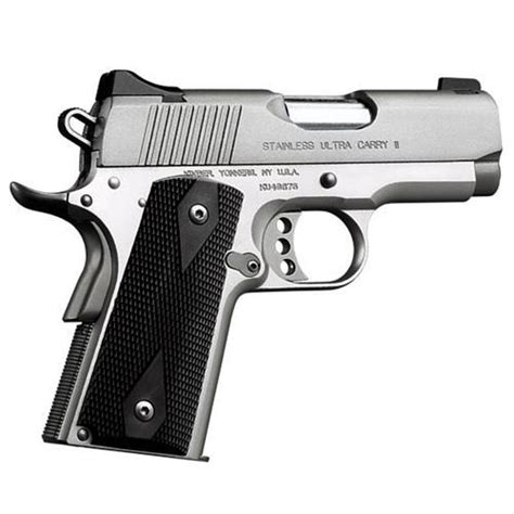 Kimber Ultra Carry 45acp kimber 3200062 1911 stainless ultra carry ii 45 acp