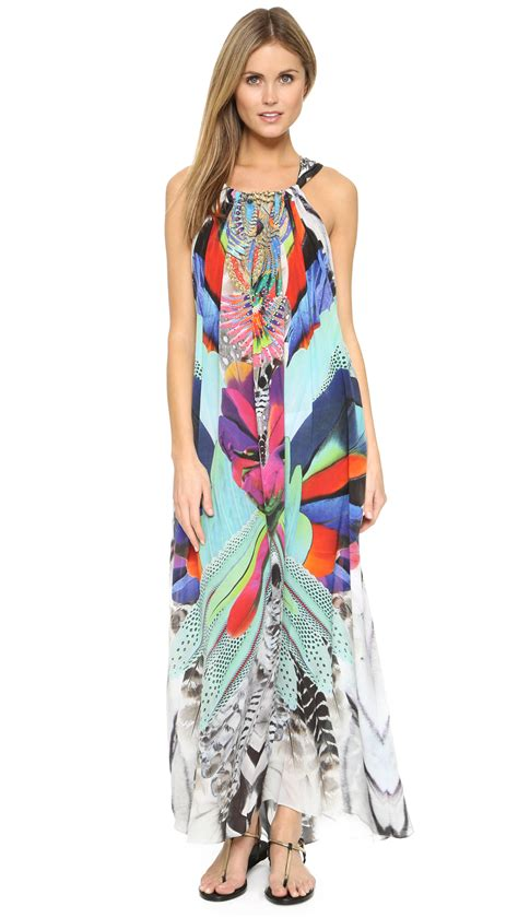camilla soaring drawstring dress lyst
