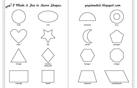 printable shapes for 3 year olds yay i made it file folder games