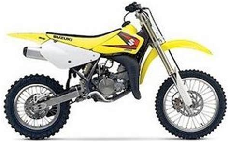 suzuki rm 80cc 2 stroke dirt bike motorcycle review and