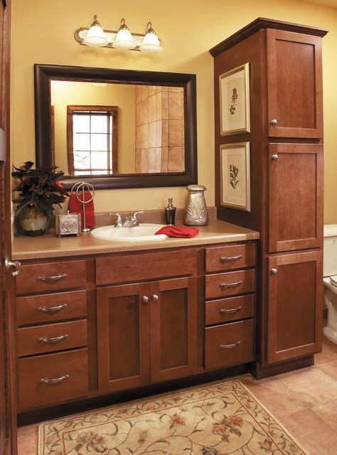 starmark cabinets starmark cabinetry guest bathroom in maple traditional