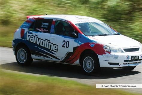 CREWS MAKE READY FOR VALVOLINE RALLY   Barbados Rally Club