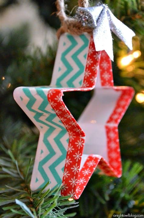 20 beautiful washi tape christmas craft ideas trees