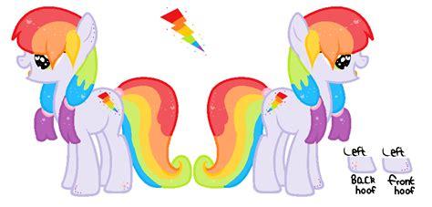 Thunder Rainbow rainbow thunder reference sheet by cutieprincess903 on