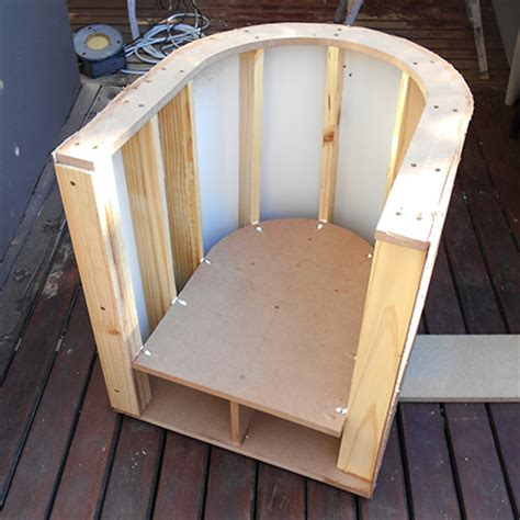 How To Make A Wooden Chair by Home Dzine Home Diy How To Make A Tub Chair
