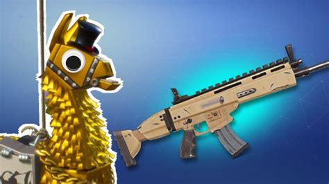 fortnite llama luck siegebreaker loot legendary