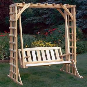 Garden Arbor Swing by Several Good Things You Need To Know About Garden Arbor