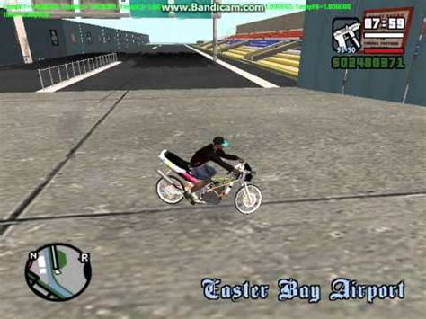 game gta mod indonesia drag gta san andreas drag bike indonesia youtube