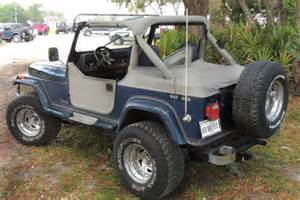 Jeep Wrangler Laredo 1990 Blue Jeep Wrangler Laredo 4 2l Engine 5 Speed