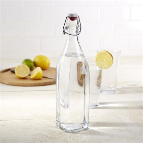 bormioli rocco swing bottle bormioli rocco swing glass water bottle 1l for 4 95 everten