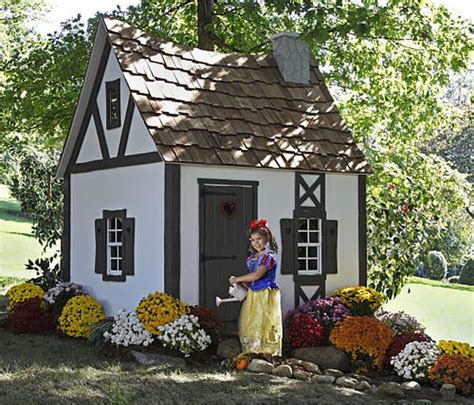 Snow Whites Cottage Playhouse Is The Ultimate Gift For Cottage Playhouse
