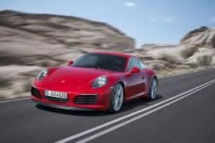 Porsche Offers 2016 Porsche 911 Revealed S Offers Supercar