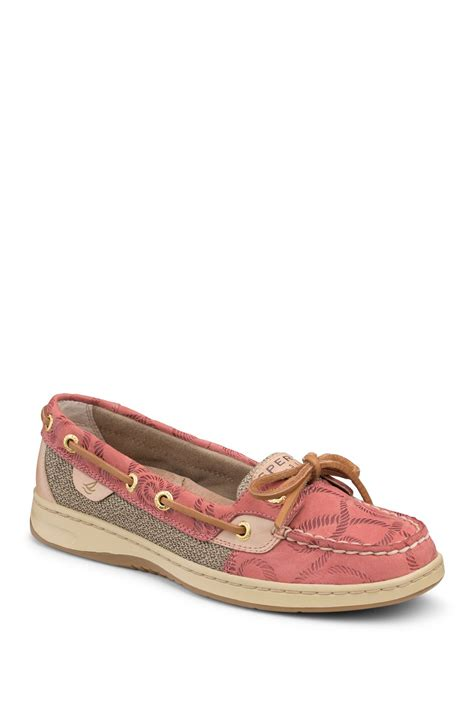 rubber sts clearance sperry angelfish embossed boat shoe nordstrom rack