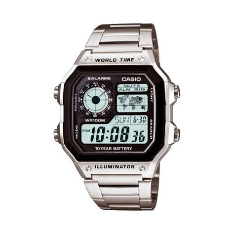 Casio Ae 1200 montre casio collection ae 1200whd 1avef pour homme