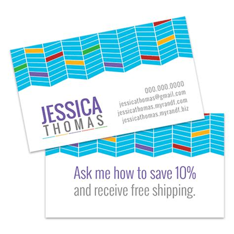 rodan and fields business card template free skin care business card horizontal with geometric