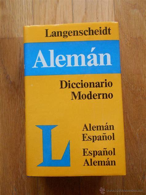 libro langenscheidt diccionario moderno alemn diccionario moderno aleman espa 241 ol langensche comprar