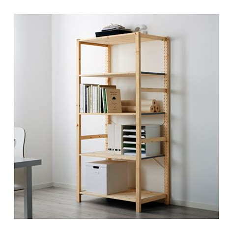 scaffali expedit ivar regal