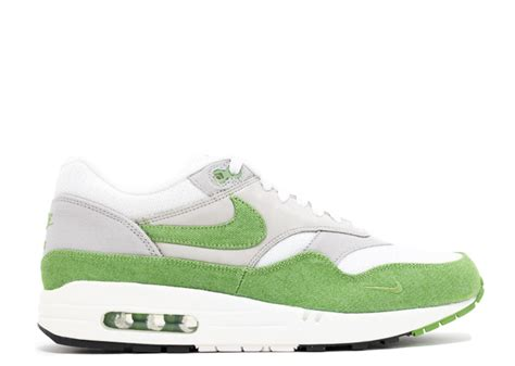 Sepatu Nike Air Berwuda 1 air max 1 premium qs white chlorophyll matte silver