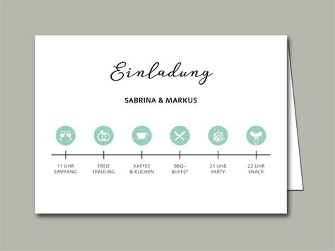 Hochzeitseinladung Zeitstrahl by Hochzeitseinladung Timeline