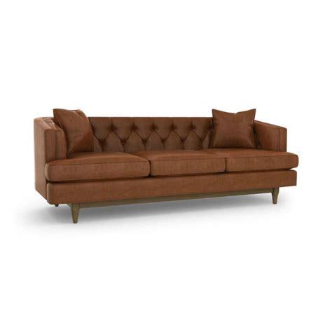 chester leather sofa sofa precedent furniture modern furnishings