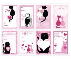 valentines card publisher template animals cards templates for