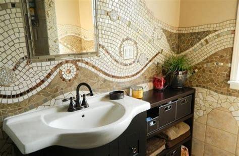 bagni decorati foto di bagni a mosaico pourfemme