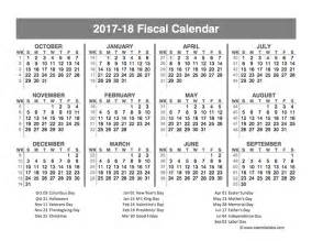financial year calendar template 2017 fiscal year quarters template free printable templates