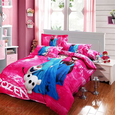 frozen queen bedding disney frozen bedding set 100 cotton buy disney frozen