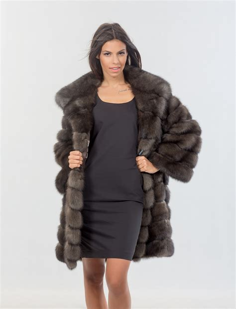 Russian Fur russian hair fur jacket by haute acorn